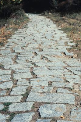 how to grout flagstone