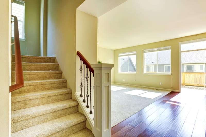 Can A Runner Be Placed Over Carpeted Stairs Home Guides Sf Gate | Stair Runners For Carpeted Steps | Flooring | Youtube | Stair Rods | Wood | Rugs