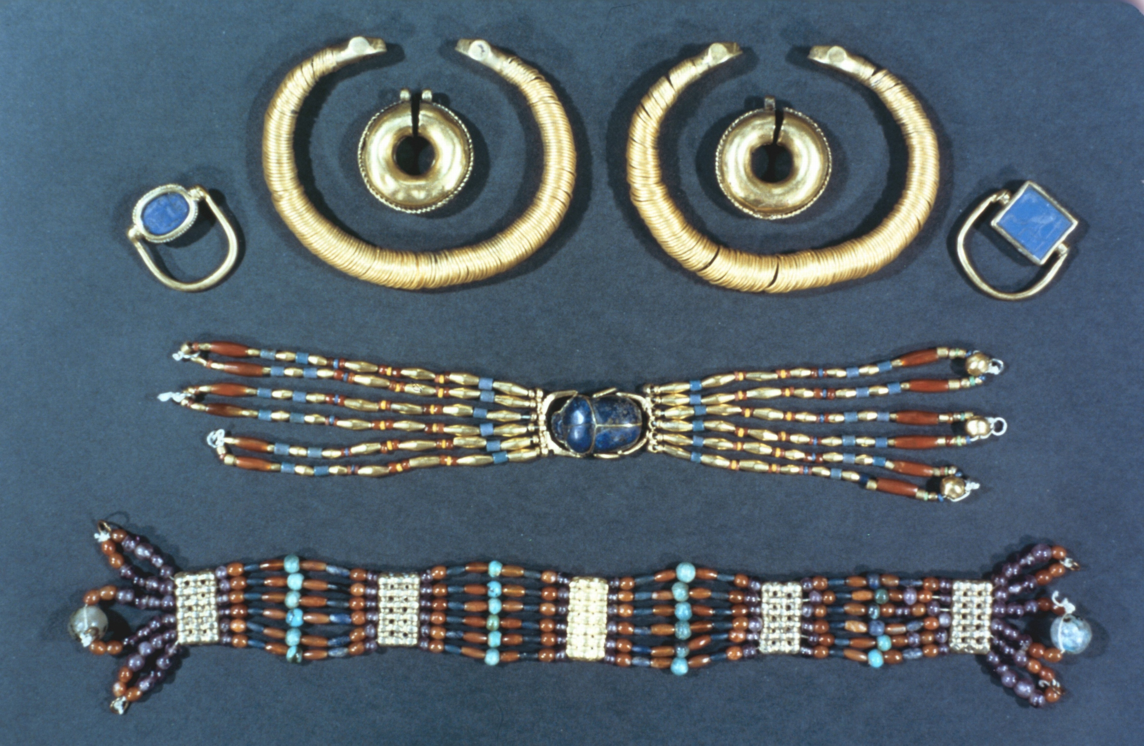 Different Types Of Ancient Egyptian Jewelry