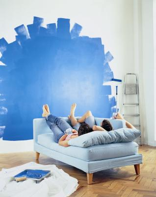 How To Decorate A Blue Carpeted Room