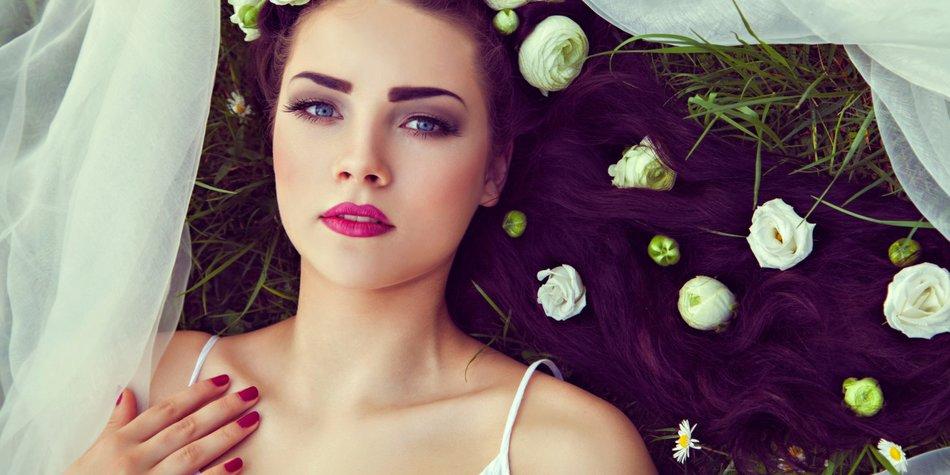 Brautfrisur Lange Feine Haare Beliebte Frisuren 2020