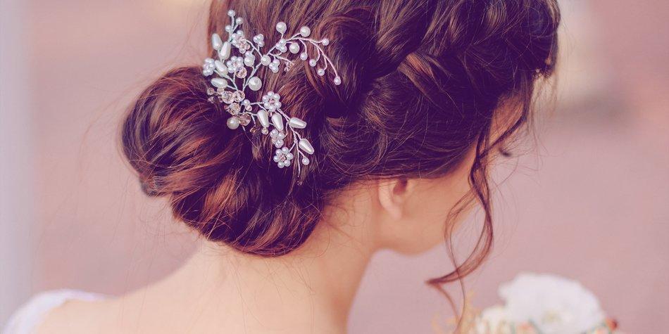 Brautfrisuren Zum Selbermachen Easy Bride Hairstyles Kalilopii