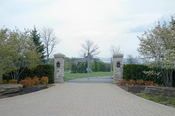 Unfortunately, this estate has been listed for sale which meant that Bruce Trail had to be re-routed.  The trail had originally passed through a section of forest that is part of this property.