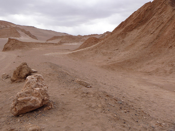 Valle de la Muerte (Death Valley) in San Pedro de Atacama, Chile is where lots of folks go sandboarding