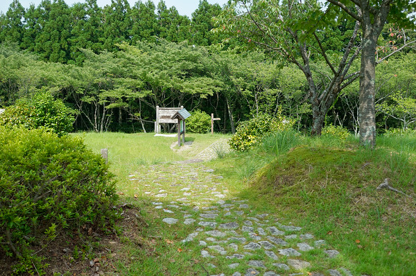 The final stone path to Nachi-san begins.
