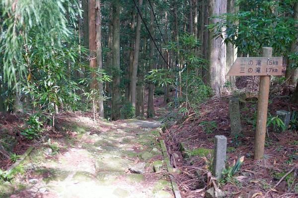 The distance countdown begins towards Nachi-san.