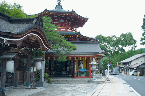 After a long train ride from Osaka and my first bus ride in Japan, I arrived in Mount Koya and was greeted with beautiful monasteries.