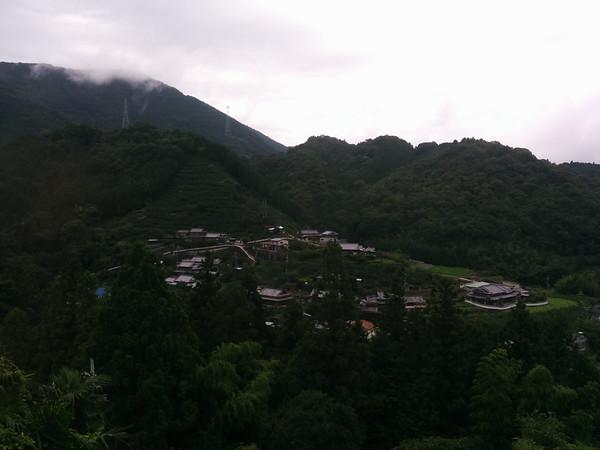 Along the way by train to Mount Koya.