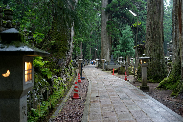 The path through Okuno-in served as a much larger hiking trail that many people used.  I wish I had the time to walk through all of it but as I was only spending one night in Mount Koya, I wanted to make a visit to and see the other temples in town.
