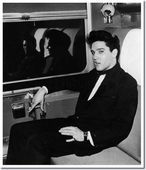 Elvis Presley (And Charlie Hodge) : April 20, 1960