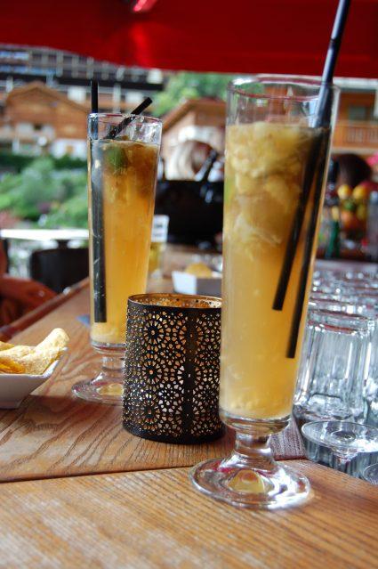 Cocktail Dark and Stormy, La Clusaz