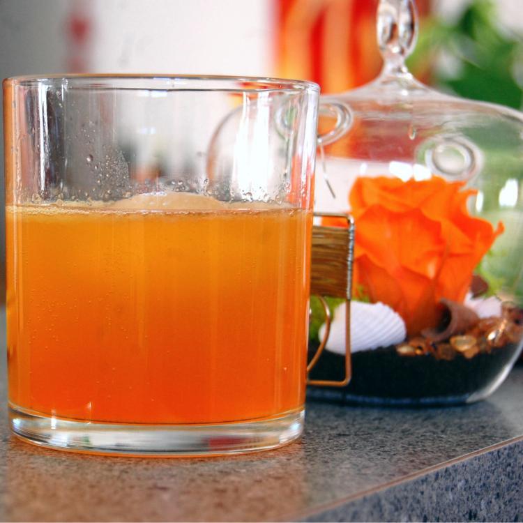 Cocktail orange en dégradé