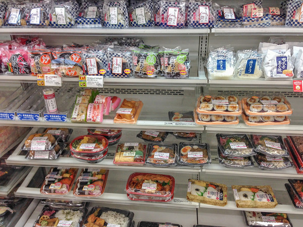 Japanese Food: Convenience Store Sushi