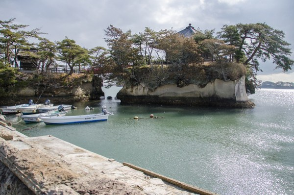 Godaido, the Temple on the Island - Matsushima Bay, Japan