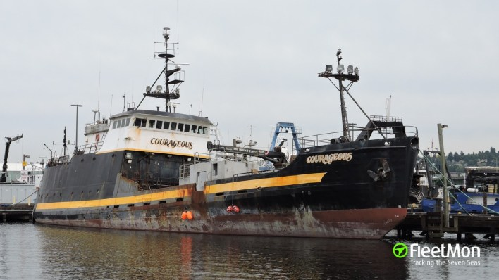 Vessel COURAGEOUS (Fishing vessel) IMO 7947398, MMSI 368499000