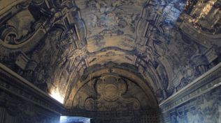 Ces azulejos du 18ème siècle évoquent, en particulier, la vie de st Philippe
