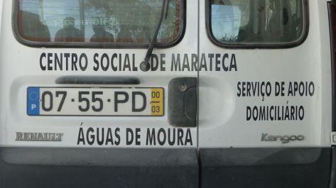 Nous allons manger au centre social de Marateca