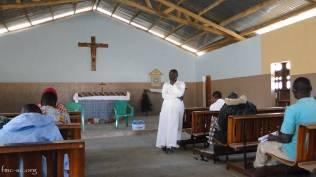 Les catéchistes avec le P Christophe