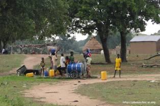 Ballade dans le village : du côté du puits