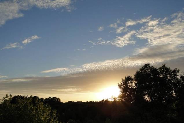 Le soleil fut au rendez-vous au long de ces jours...