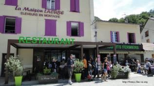 Boutique et restaurant de la famille Lacube