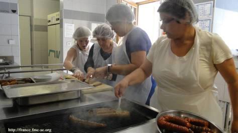 Et les portugais s'activent en cuisine