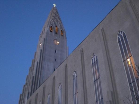 Hallgrimskirkja Church Tower reykjavik iceland