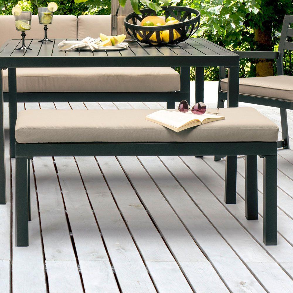 salon de jardin kettler ocean canape d angle table banc fauteuil