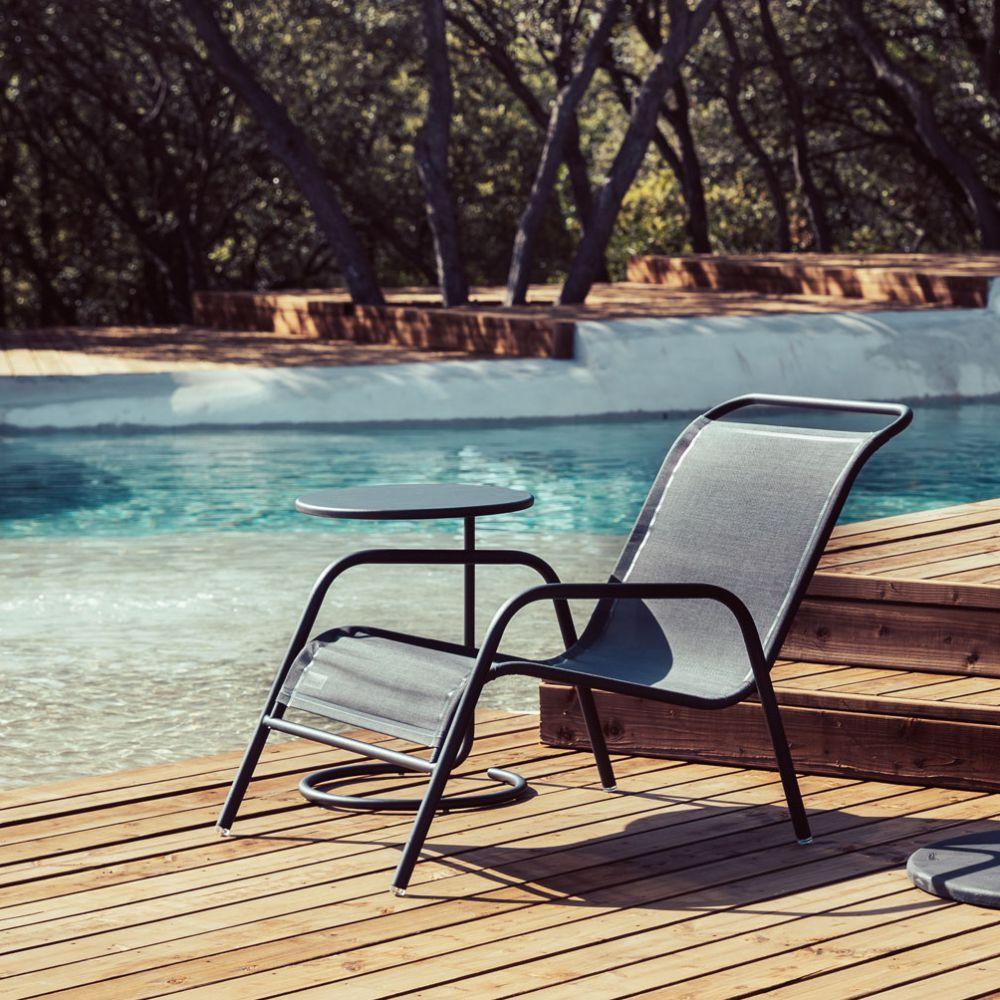 salon de jardin fermob coolside table basse 1 fauteuil de jardin bas