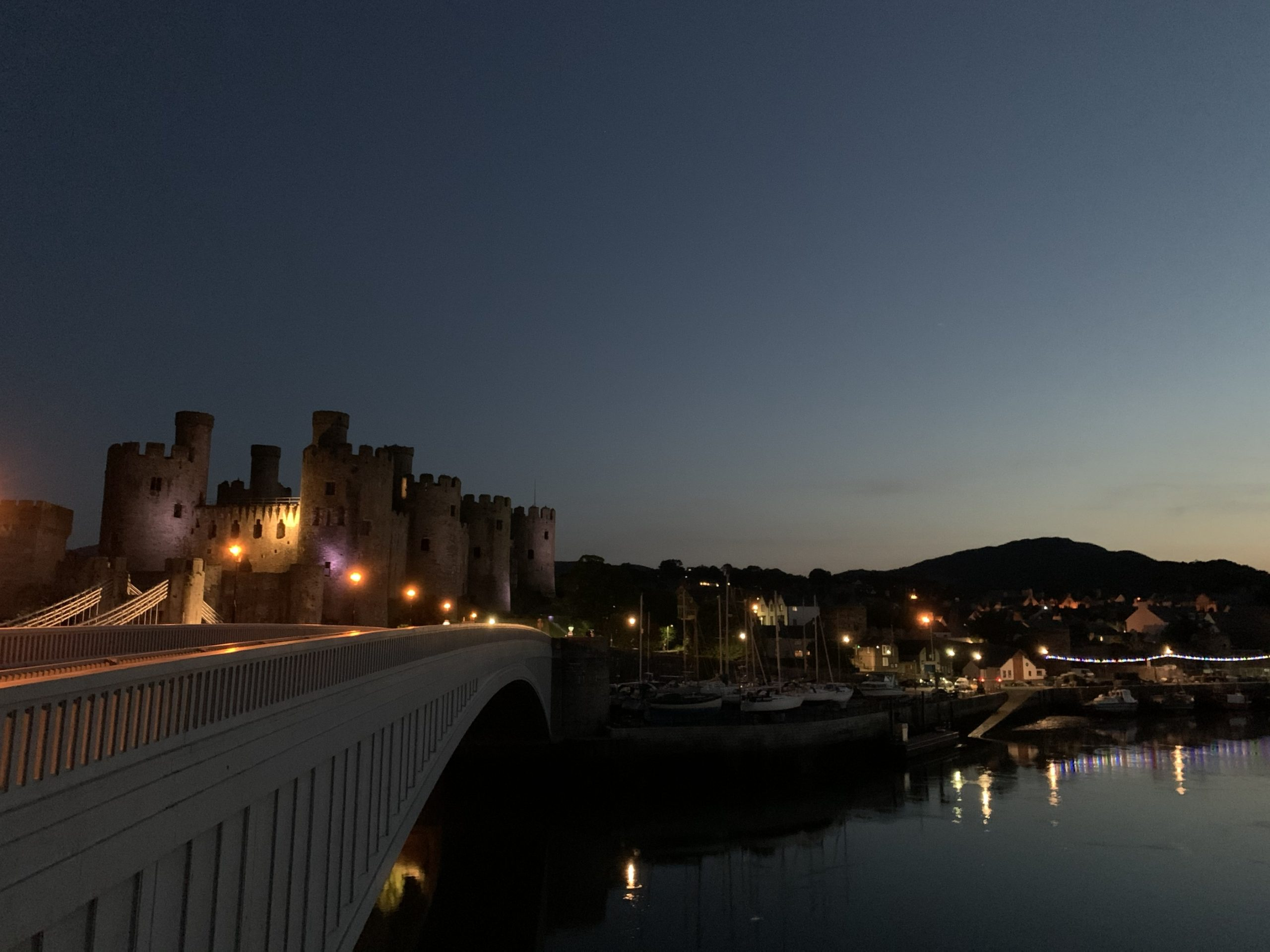 Conwy After Dark