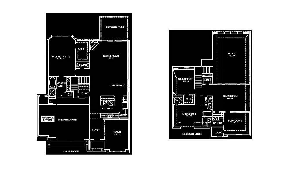 Newmark Homes Sienna Floor Plan