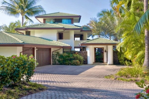 Kona Bay Estates Oceanfront home for sale