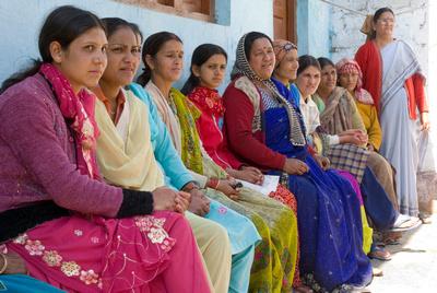 Women of Navdanya farming community in Guptkashi