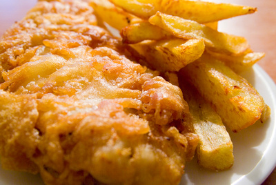Heston Blumenthal recipe fish & chips