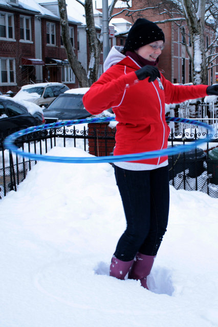 Snow Hooping