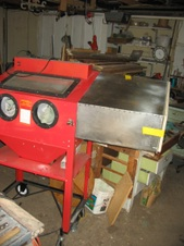 harbor freight sand blasting cabinet upgrade] - 100 images - 100 ...