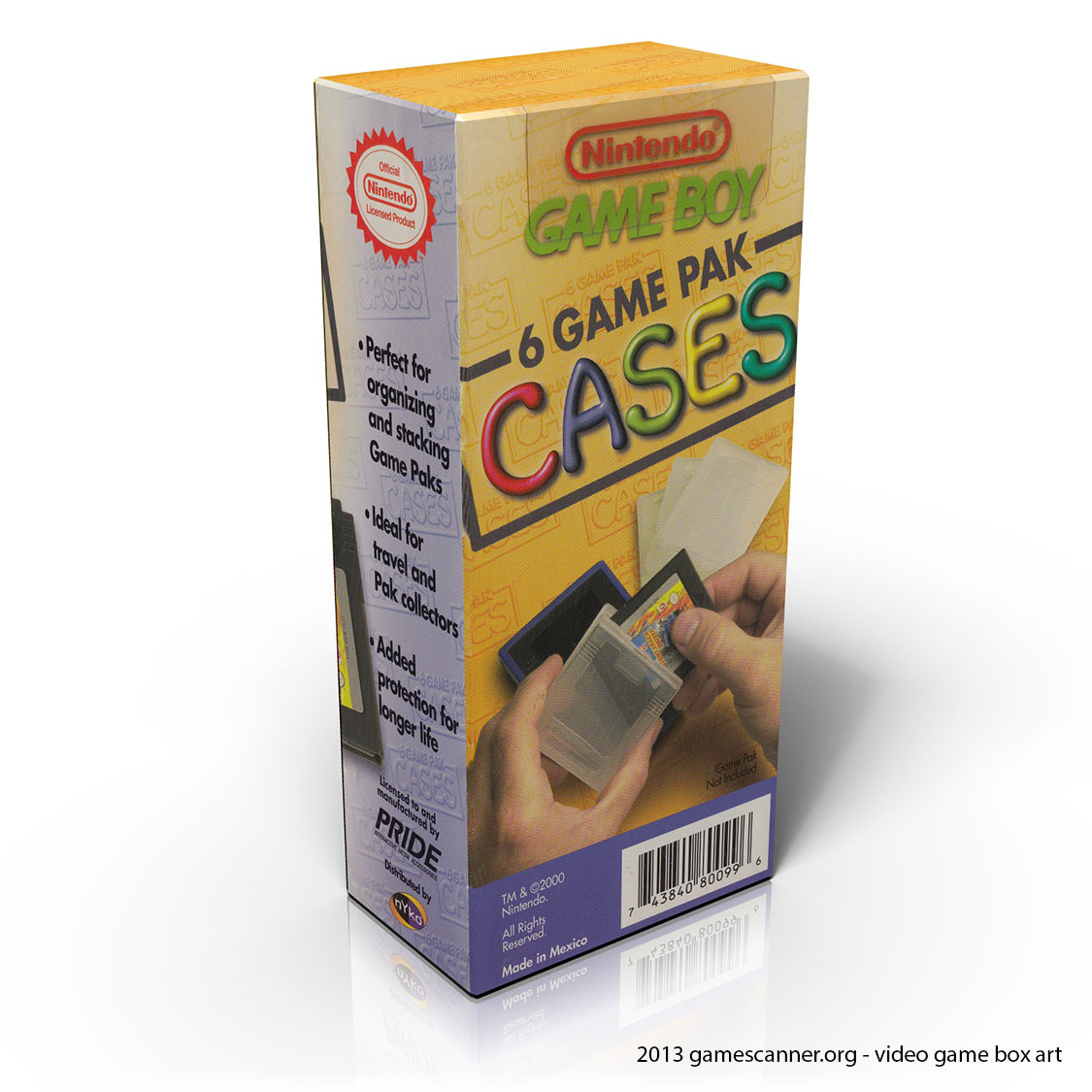 game boy game cases by pride nyko