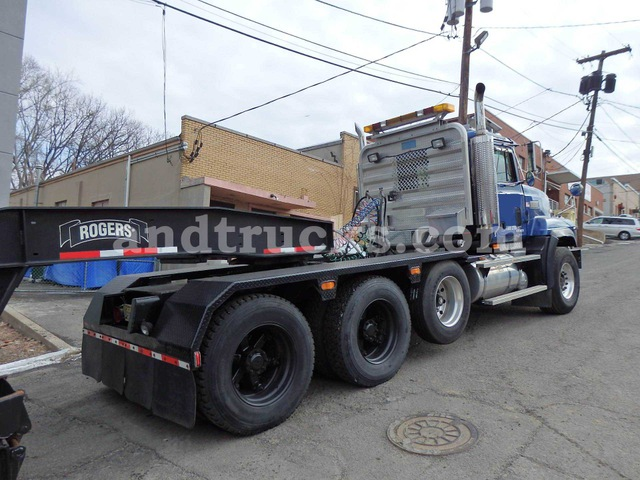 Mack Cl713 Tri Axle Tractor With 55 Ton Lowboy Used For Sale