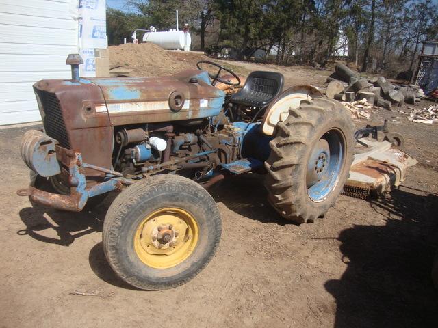 Ford 3000 Farm Tractor : Ford farm tractor plus land pride brush hog http