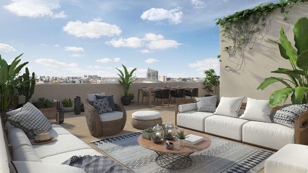 pieces 127 45 m2 terrasse vue garonne