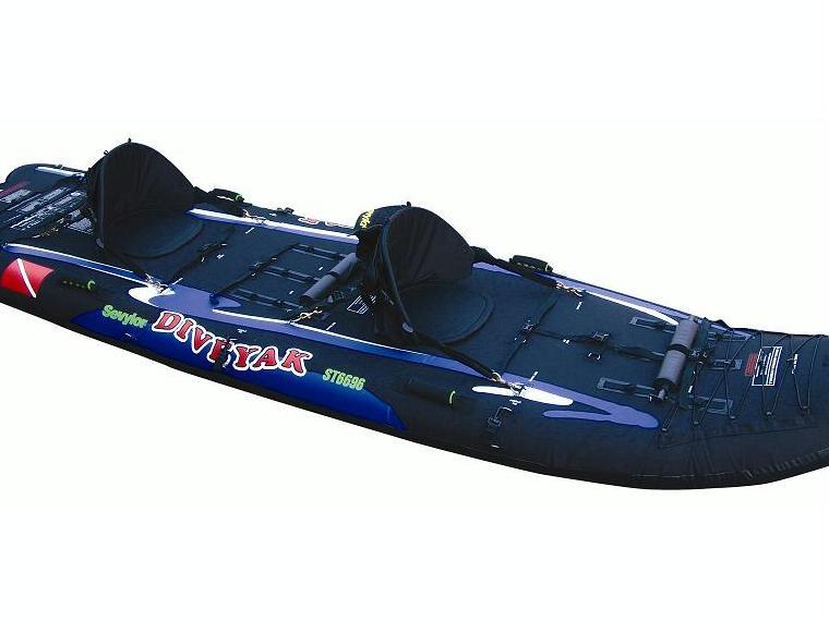 KAYAK ST6696 DIVEYAK 2 2 PLAZAS SEVYLOR KayaksCanoes 91001 INautia