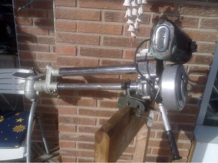Motor Fueraborda Outboard British Seagull 1962 Second