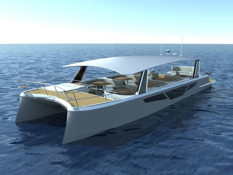 Boat Flash Cat 58 Passenger INautia