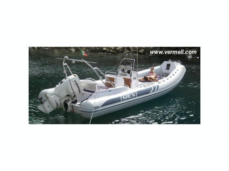 SACS 680 In CN Porto Cristo Inflatable Boats Used 50707