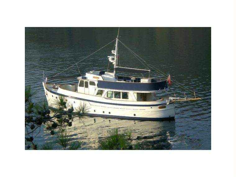 Ditzen Shipyard William Garden Classic Trawler In Turkey
