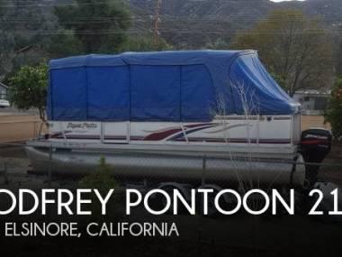 godfrey pontoon aqua patio 210 le in