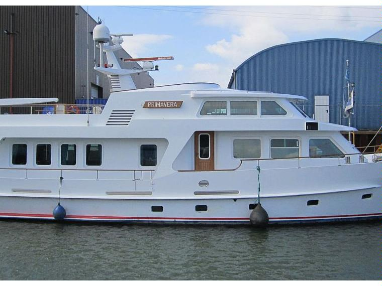 Dutch Steel Seagoing Motoryacht 2200 Fly In Zuid Holland