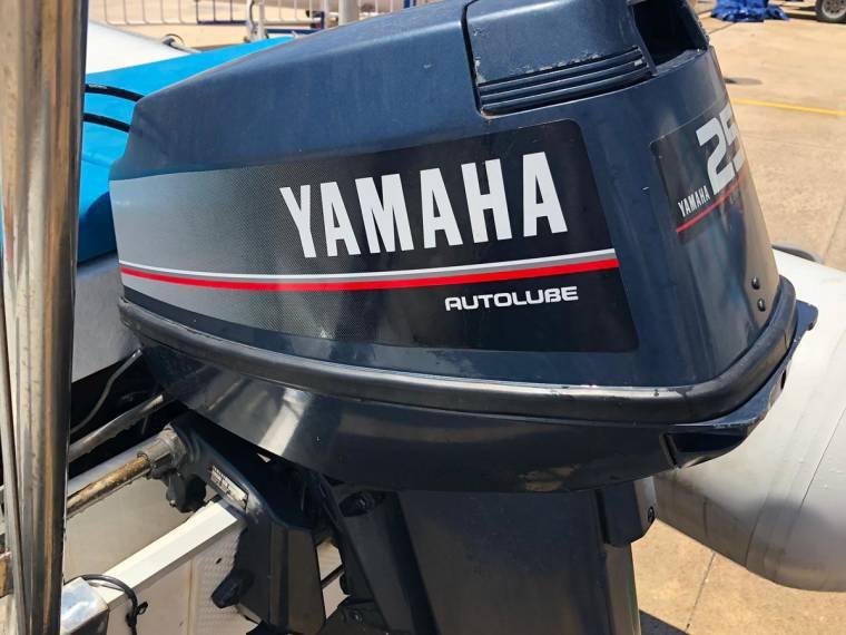 Semirigida Valiant 380 Motor 25cv En Port Dptivo Tarragona Bateaux Semi Rigides D Occasion 52565 Inautia