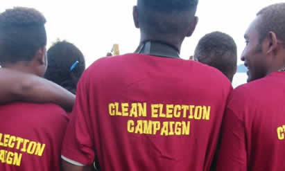 Clean elections campaign
