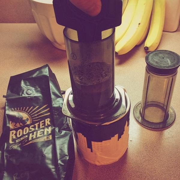 Aeropress is where it's at, right @rooandhencoffee?
